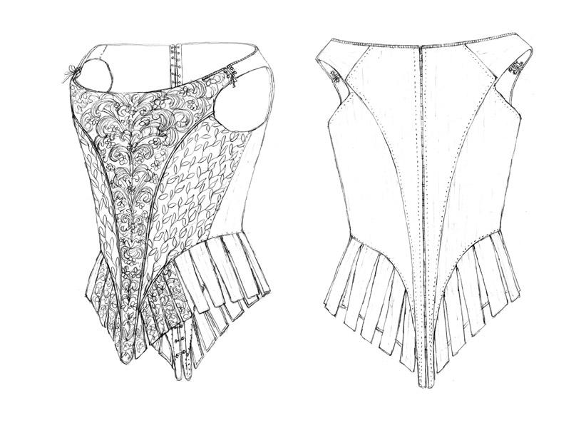 Bodice c.1680-90