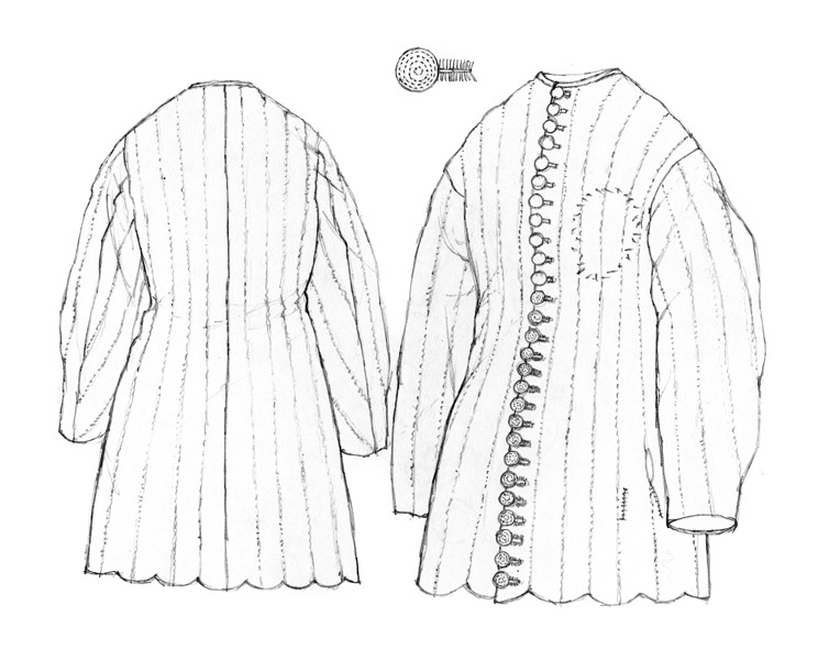 Padded coat c.1370