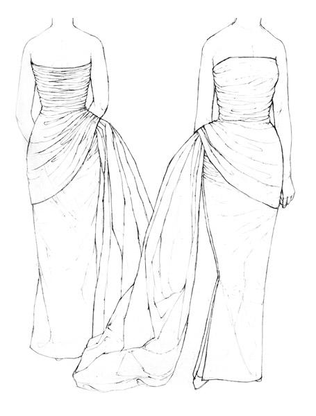 Schiaparelli dress  c.1955