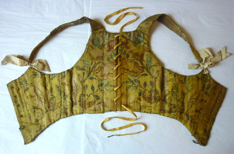 Boned bodice, eighteenth century