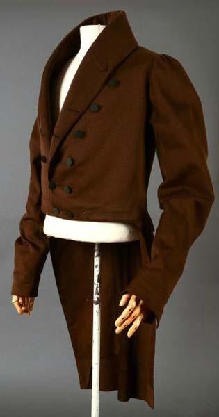 Wool coat c.1820-30